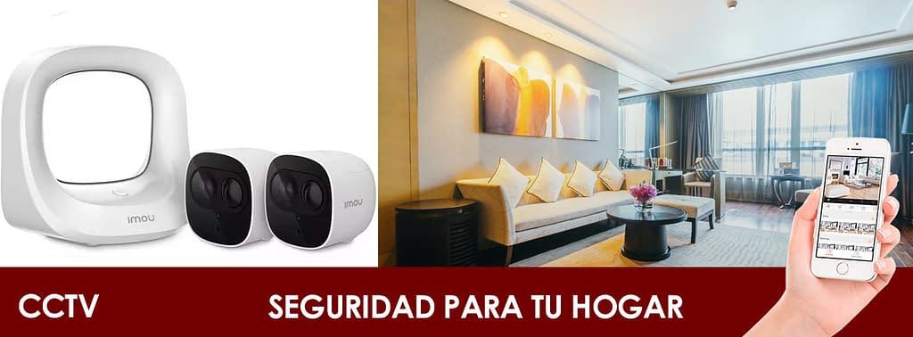 seguridad para tu hogar CCTV